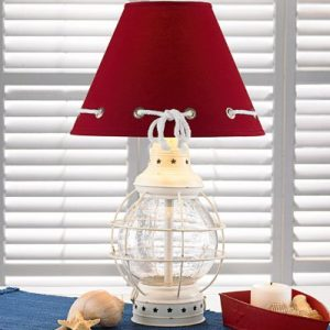 6-red-shape-glass-caged-nautical-lamp-300x300 Best Coastal Themed Lamps
