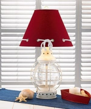 6-red-shape-glass-caged-nautical-lamp-300x360 200+ Coastal Themed Lamps