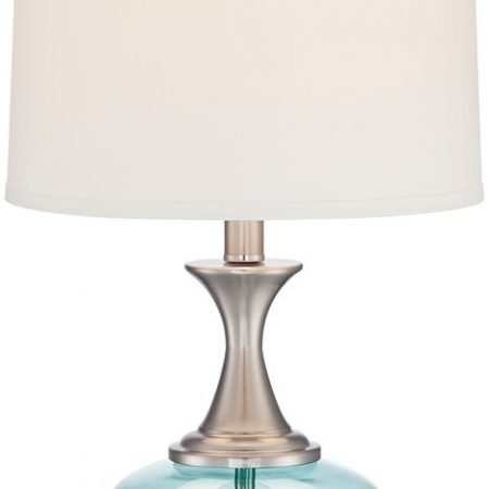 6-reiner-blue-glass-and-steel-table-lamp-450x450 100+ Coastal Themed Lamps