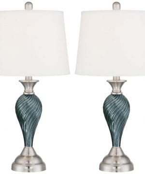 7-arden-dark-blue-green-twist-column-table-lamp-300x360 200+ Coastal Themed Lamps