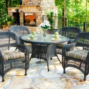 7-dark-roast-5pc-resin-wicker-dining-set-300x300 Wicker Dining Tables & Wicker Patio Dining Sets