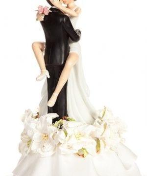 8-Sexy-Hawaiian-Beach-Wedding-Cake-Topper-300x360 50+ Beach Wedding Cake Toppers and Nautical Cake Toppers For 2020