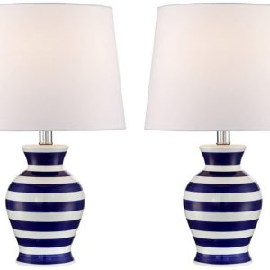 8-camden-dark-blue-and-white-striped-nautical-lamp-300x300 Nautical Themed Lamps