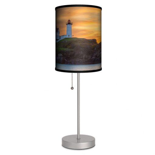 Maine Nubble Lighthouse Table Lamp
