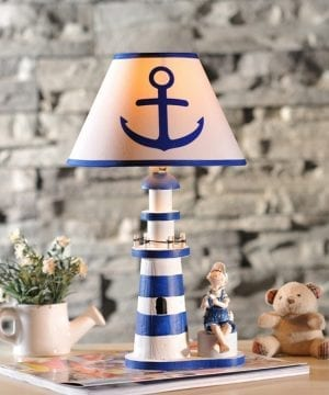 8-nautical-anchor-lighthouse-table-lamp-300x360 100+ Nautical Anchor Decorations and Decor