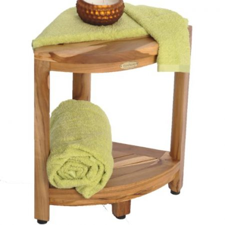 8b-ecodecors-earthyteak-corner-shower-bench-450x450 Outdoor Teak Benches