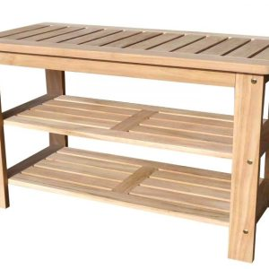 9-d-art-collection-outdoor-teak-shoe-bench-300x300 100+ Outdoor Teak Benches