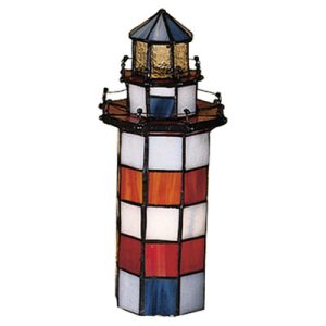 Meyda Tiffany Lighthouse Table Lamp