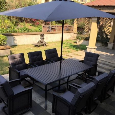 9-palmetto-black-aluminum-wicker-dining-set-450x450 Best Outdoor Wicker Patio Furniture