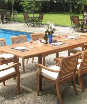 9b-rectangle-9pc-grade-a-teak-dining-set-300x360 Best Teak Patio Furniture Sets