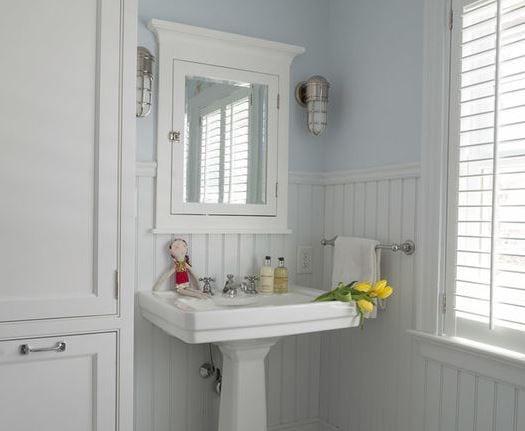 Childrens-Bath-by-Alisberg-Parker 101 Indoor Nautical Style Lighting Ideas