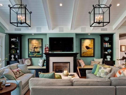 Family-Rooms-by-Viscusi-Elson-Interior-Design 101 Indoor Nautical Style Lighting Ideas