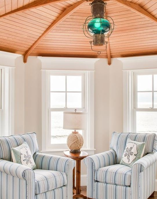 Kennebunk-Steps-To-The-Beach-by-Hurlbutt-Designs 101 Indoor Nautical Style Lighting Ideas