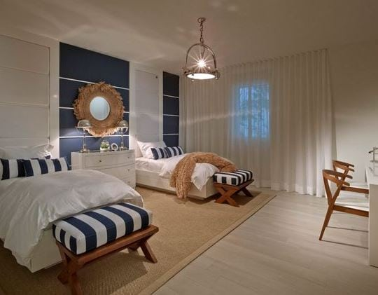 Ocean-House-by-Interiors-by-Steven-G 101 Indoor Nautical Style Lighting Ideas