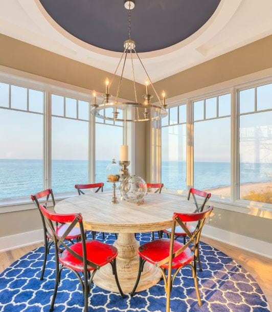 Refined-Beachfront-by-Mike-Schaap-Builders 101 Indoor Nautical Style Lighting Ideas