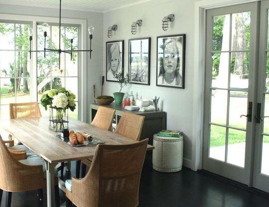 Rustic-Dining-Room 101 Indoor Nautical Style Lighting Ideas