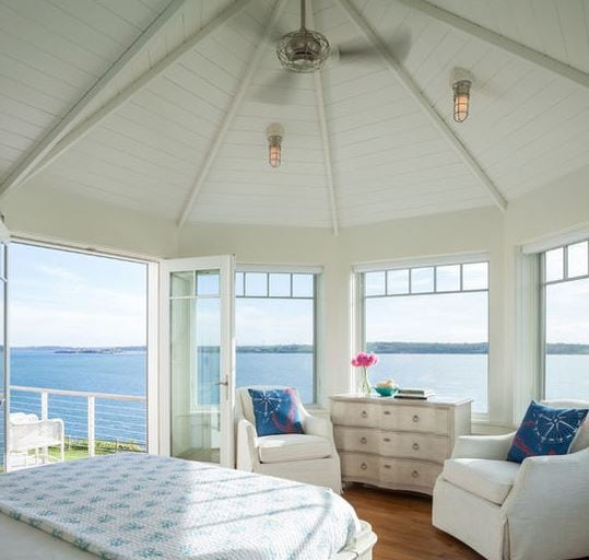 Seaside-Escape-by-DiMauro-Architects-Inc 101 Indoor Nautical Style Lighting Ideas