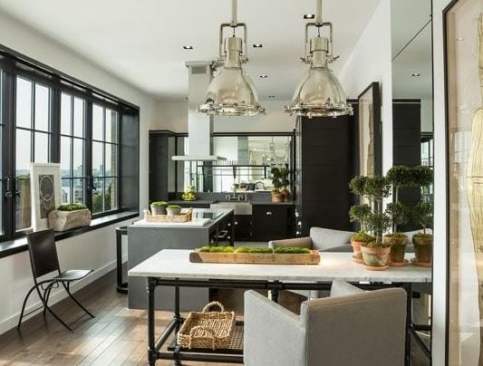 Stella-Tower-NYC-by-Michael-Dawkins-Home 101 Indoor Nautical Style Lighting Ideas