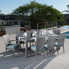 alfonso-wicker-dining-set Wicker Patio Dining Sets