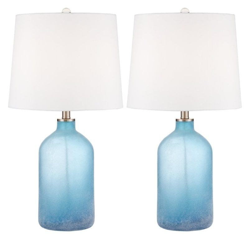 aston-blue-frosted-glass-table-lamp-set-of-2-800x800 Best Coastal Themed Lamps
