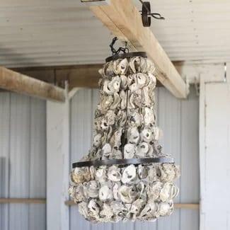 beach-chandelier 101 Indoor Nautical Style Lighting Ideas