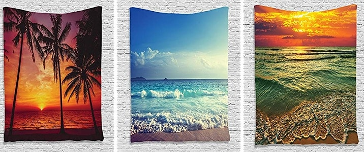 beach tapestries