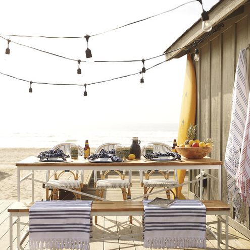 Superieur 27 Beautiful Beach Inspired Patio Designs