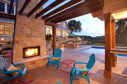 27 Beautiful Beach-Inspired Patio Designs - Beachfront Decor on Beach House Patio Ideas id=27186