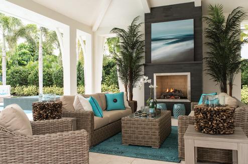 27 Beautiful Beach-Inspired Patio Designs - Beachfront Decor on Beach House Patio Ideas id=50968