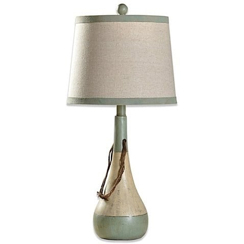 buoy-coastal-lamp-fabric-shade Best Coastal Themed Lamps