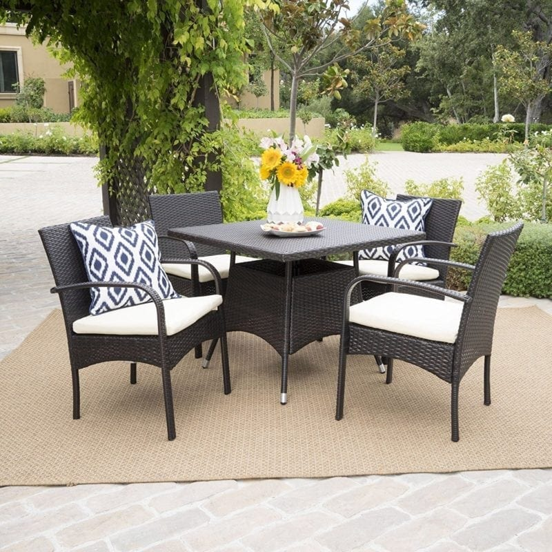 carmela-5-piece-outdoor-wicker-dining-set-800x800 Wicker Patio Dining Sets