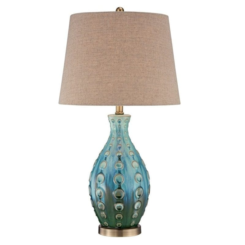 ceramic-vase-teal-table-lamp-800x800 Best Coastal Themed Lamps