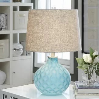 coastal-lamp 101 Indoor Nautical Style Lighting Ideas