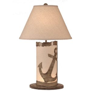 Coastal Living Anchor Scene Lamp