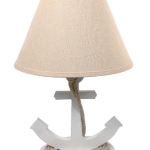 dei-19-white-table-lamp-anchor-300x300 Anchor Decor & Nautical Anchor Decorations