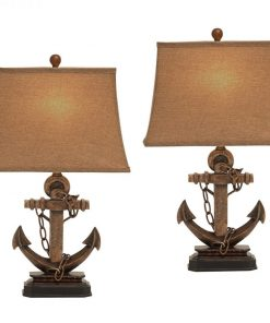 EC World Imports Antique Anchor Chain Lamp