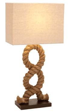 hamptons-nautical-rope-themed-lamp Nautical Themed Lamps