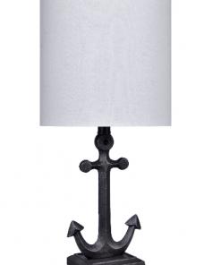 Iron Anchor Nautical Table Lamp