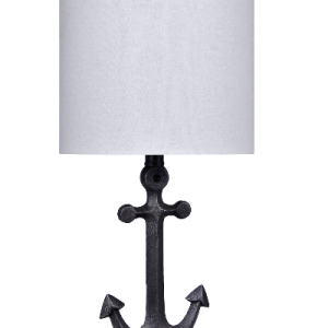 Iron Anchor Nautical Table Lamp