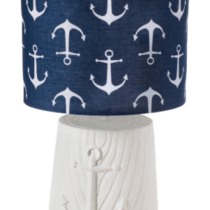 killingworth-anchor-blue-white-lamp-300x300 Anchor Decor & Nautical Anchor Decorations