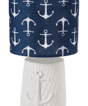 killingworth-anchor-blue-white-lamp-300x360 200+ Coastal Themed Lamps
