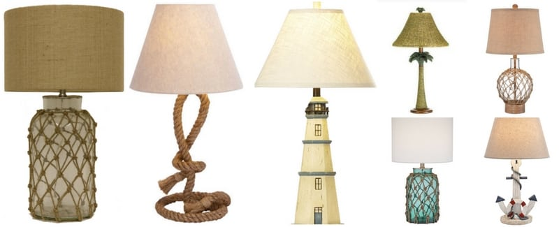 Nautical Themed Lamps