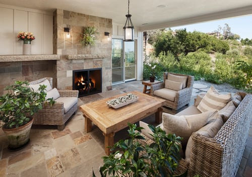 traditional-patio-6 Best Wicker Patio Furniture Sets