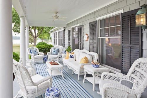traditional-porch-outdoor-wicker-furniture Best Outdoor Wicker Patio Furniture