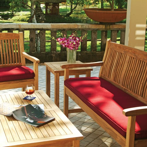 traditional-porch 100+ Outdoor Teak Benches