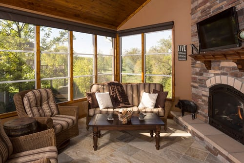 traditional-sunroom-1 Best Outdoor Wicker Patio Furniture