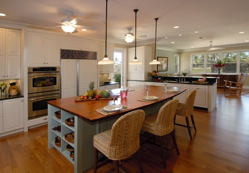 transitional-kitchen-outdoor-wicker-furniture Best Outdoor Wicker Patio Furniture