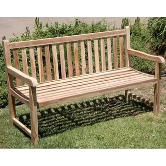 waterford-teak-park-bench Outdoor Teak Benches
