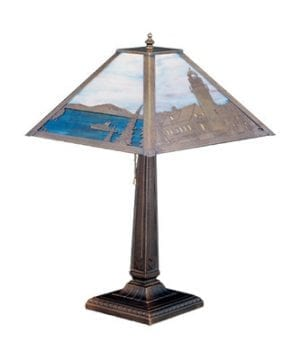 Meyda Tiffany Lighthouse Bay Nautical Lamp