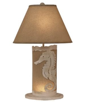 10-coastal-living-seahorse-scene-panel-lamp-300x360 200+ Coastal Themed Lamps